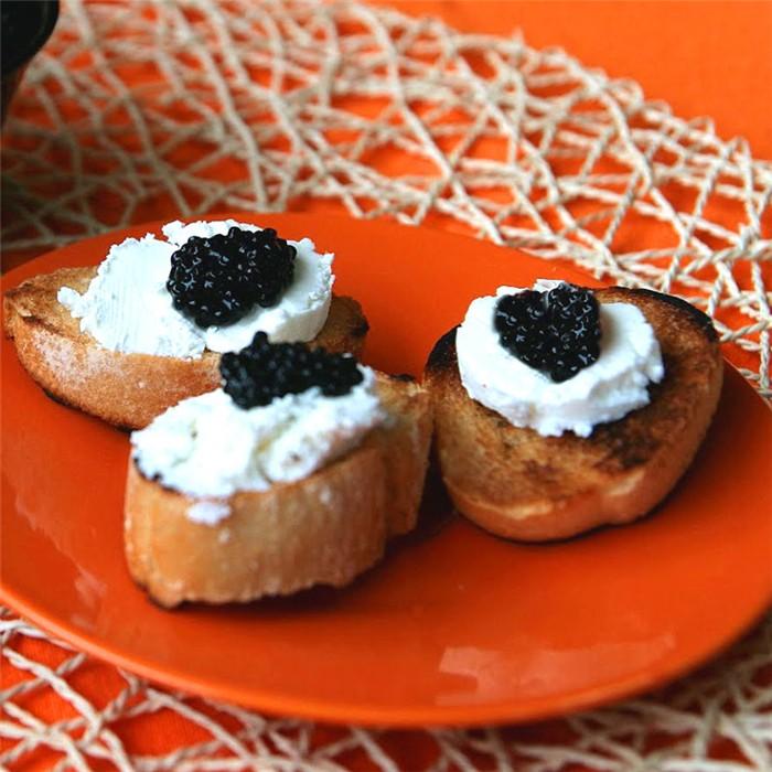 recetas de tapas con caviar