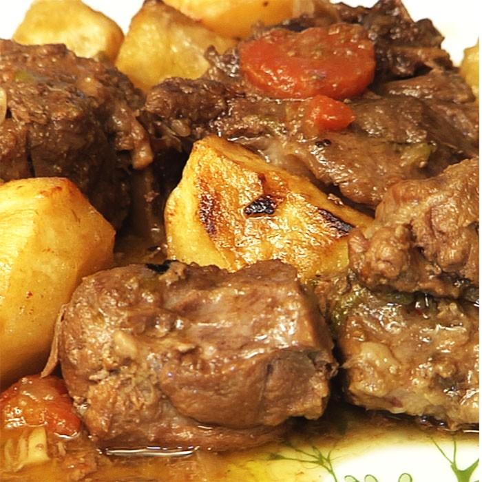 receta jabali estofado
