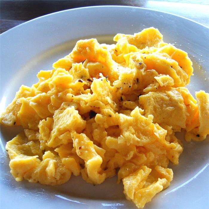 Huevos Revueltos Con Gambas