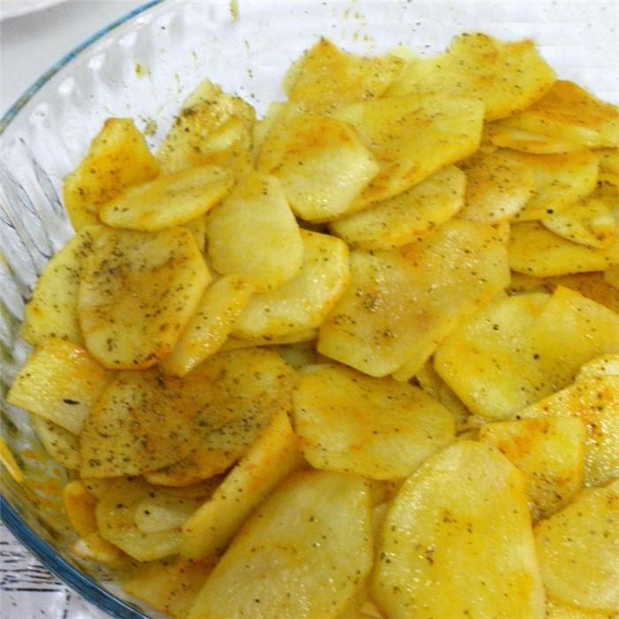 Patatas A La Pimienta En Microondas