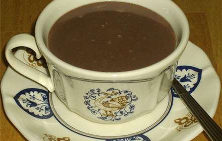 Receta de Chocolate caliente con Thermomix